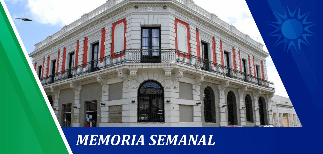 Memoria Semanal