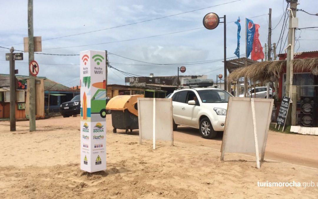 Conectados en las playas de Rocha