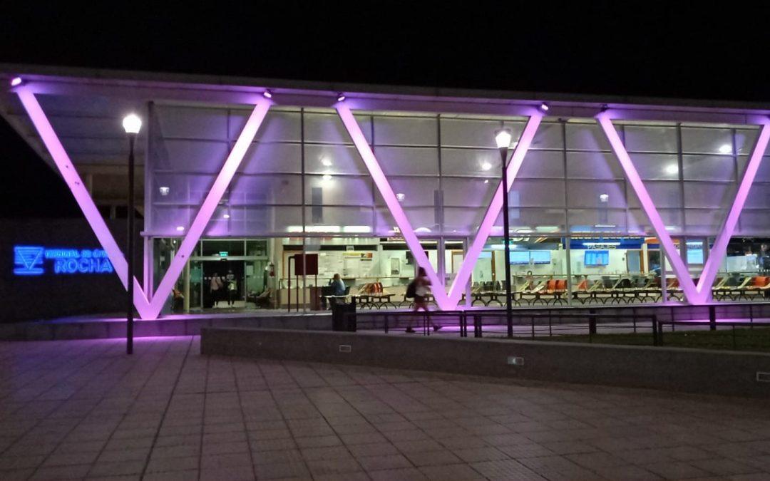 Terminal de Ómnibus de Rocha constató un 60% menos de pasajeros que en 2019